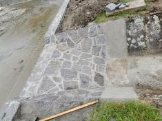 Oprava hráze rybníku Nový