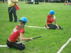 Hasičská soutěž Jehnědno 2011