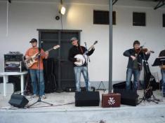 Slavnostní otevření obecního dvoru 25. 6. 2011 - kapela WC Pauza