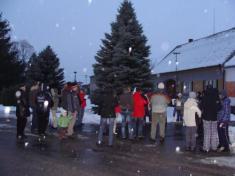 Zpívání u stromečku 24. 12. 2010