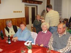 Setkání důchodců 20. 11. 2010